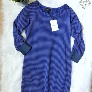 NWT Theory Striped Sweater Dress